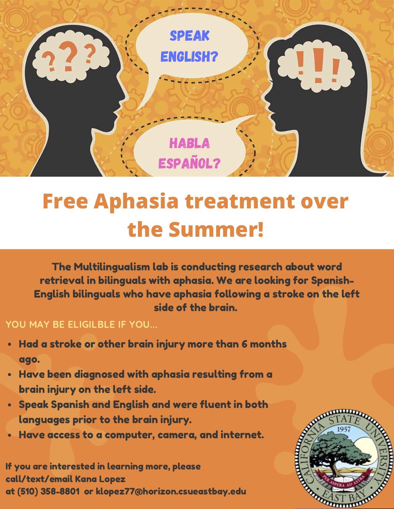 Flyer_Bilingual aphasia study
